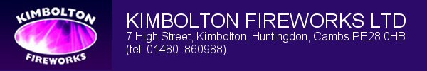 Click to buy Kimbolton fireworks